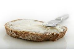 chlebowy masło Zdjęcia Royalty Free
