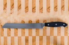 Chlebowy nóż Fotografia Royalty Free