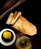 chlebowy nafciany ocet Fotografia Stock