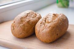 chlebowy odosobnienia żyta biel Fotografia Stock