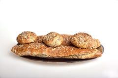 chlebowy organicznie wholemeal Obrazy Stock