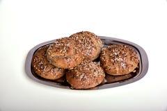 chlebowy organicznie wholemeal Fotografia Stock
