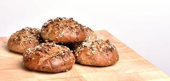 chlebowy organicznie wholemeal Obraz Stock