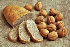 chlebowy orzech włoski Fotografia Stock
