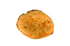 chlebowy płaski świeży round Zdjęcie Royalty Free