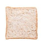 Chlebowy plasterek na tle Obraz Stock