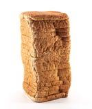 Chlebowy plasterek odosobniony Obrazy Stock