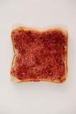Chlebowy plasterek z dżemem Zdjęcia Stock