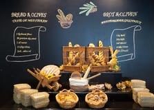 Chlebowy pokaz Zdjęcia Stock