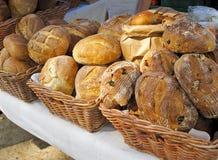 chlebowy pokazu rolników rynek Obrazy Royalty Free