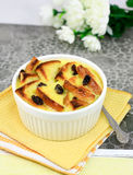 Chlebowy pudding Obraz Stock