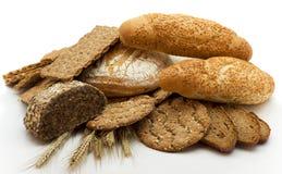 chlebowy różny rodzaj Zdjęcia Royalty Free