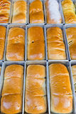 chlebowy rząd fotografia stock