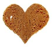 chlebowy serce obraz royalty free