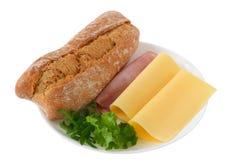 chlebowy serowy baleron Obraz Stock