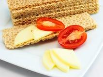 chlebowy serowy crispy Zdjęcia Stock