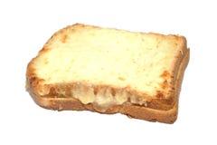 chlebowy serowy croque piec na grillu baleronu monsieur Fotografia Royalty Free