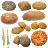 chlebowy set zdjęcie stock