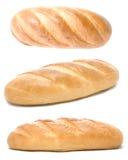 chlebowy tło biel fotografia stock