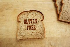 Chlebowy tekst Zdjęcie Royalty Free