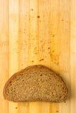 chlebowy zmrok pokrajać Obraz Royalty Free