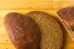 chlebowy zmrok pokrajać Fotografia Stock