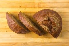 chlebowy zmrok pokrajać Obraz Stock