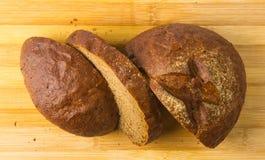 chlebowy zmrok pokrajać Fotografia Royalty Free