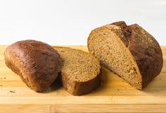 chlebowy zmrok pokrajać Zdjęcia Royalty Free