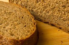chlebowy zmrok pokrajać Obrazy Royalty Free