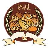 chlebowy znak Fotografia Royalty Free