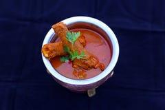 Chlebowych aloo kulcha pakoda masala ragda Indiańskich pasztecików roti choley chaat papdi kurczaka kebabu tikka pieczarki chlebo zdjęcia royalty free