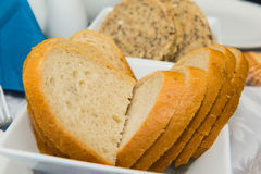 Chlebów plasterki Fotografia Stock