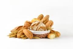 chleby różnorodni Obrazy Stock