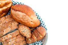 Chleby w koszu Zdjęcie Royalty Free