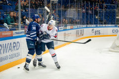 Chlinka Michal 83 on hockey game Royalty Free Stock Photos