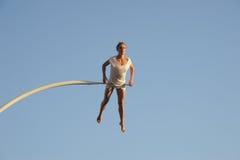 Chloé Moglia regarde le soleil se lever Royalty Free Stock Photo