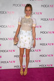 Chlo Sevigny gala neuf d'anniversaire de MOCA au 30ème, avenue grande de MOCA, Los Angeles, CA 11-14-09 Image stock