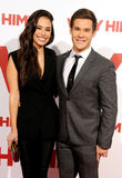 Chloe Bridges and Adam DeVine Royalty Free Stock Images