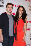 Chloe Bridges,Daryl Sabara Stock Photography