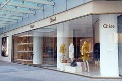 Chloe (Chloé) fashion shop Stock Photography