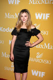 Chloe Grace Moretz arrives at the City of Hope's Music And Entertainment Industry Group Honors Bob Pittman Event Royalty Free Stock Images
