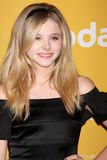 Chloe Grace Moretz arrives at the City of Hope's Music And Entertainment Industry Group Honors Bob Pittman Event. LOS ANGELES - JUN 12:  Chloe Grace Moretz Royalty Free Stock Photos