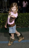 Chloe Grace Moretz. Attends the Walt Disney's World Premiere of The Shaggy Dog held at the El Capitan Theatre in Hollywood, California on March 7, 2006 Royalty Free Stock Image