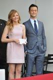 Chloe Grace Moretz & Joseph Gordon-Levitt Royalty Free Stock Images