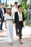 Chloe Grace Moretz & Juliette Binoche Royalty Free Stock Photo