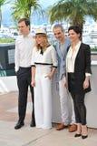 Chloe Grace Moretz & Juliette Binoche & Lars Eidinger & Olivier Assayas Stock Images