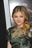 Chloe Grace Moretz. LOS ANGELES, CA - OCTOBER 7, 2013: Chloe Grace Moretz at the world premiere of her movie Carrie at the Arclight Theatre, Hollywood Royalty Free Stock Photography