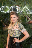 Chloe Grace Moretz. NEW YORK-JUNE 22: Chloe Grace Moretz attends the 2016 Coach And Friends Of The High Line Summer Party at The High Line on June 22, 2016 in Royalty Free Stock Photo