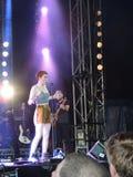 Chloe Howl bij het Festival van het Eiland Wight Stock Foto